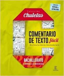 Comentario de texto fácil para bachillerato - María Teresa Caro Valverde,María González García | Planeta de Libros