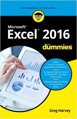 Excel 2016 para Dummies – Greg Harvey | Descargar PDF