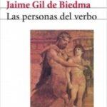 Las personas del verbo – Jaime Gil de Biedma | Descargar PDF