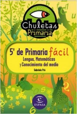 5º de Primaria fácil. Libro de Contenidos - Gabriela Pró | Planeta de Libros