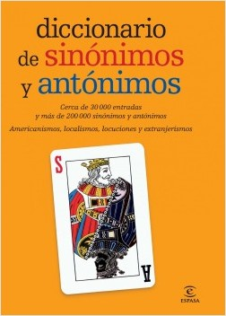 Diccionario de sinónimos y antónimos – Espasa Calpe | Descargar PDF