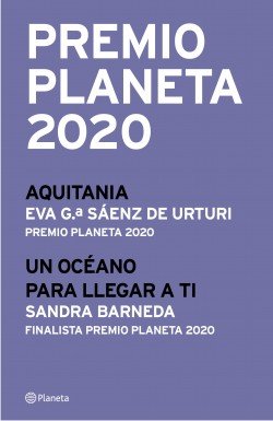 Premio Planeta 2020: ganador y finalista (pack) - Eva García Sáenz de Urturi,Sandra Barneda | Planeta de Libros