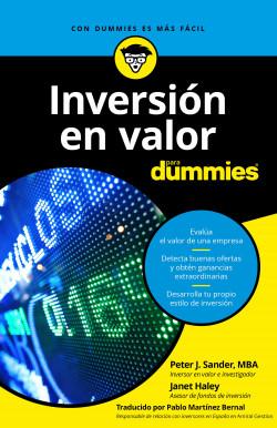 Inversión en valor para Dummies - Peter J.Sander,Janet Haley   Planeta de Libros