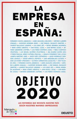 La empresa en España: objetivo 2020 - Varios Autores   Planeta de Libros
